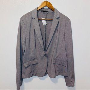 NWT Maurices grey bottom blazer jacket